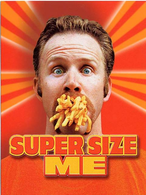 Super size me homework assignment bvmpe for American cuisine film